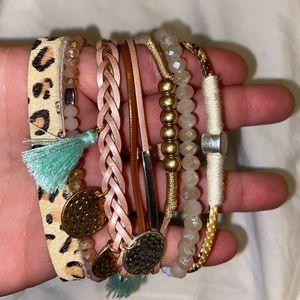 Plunder stackable bracelet!